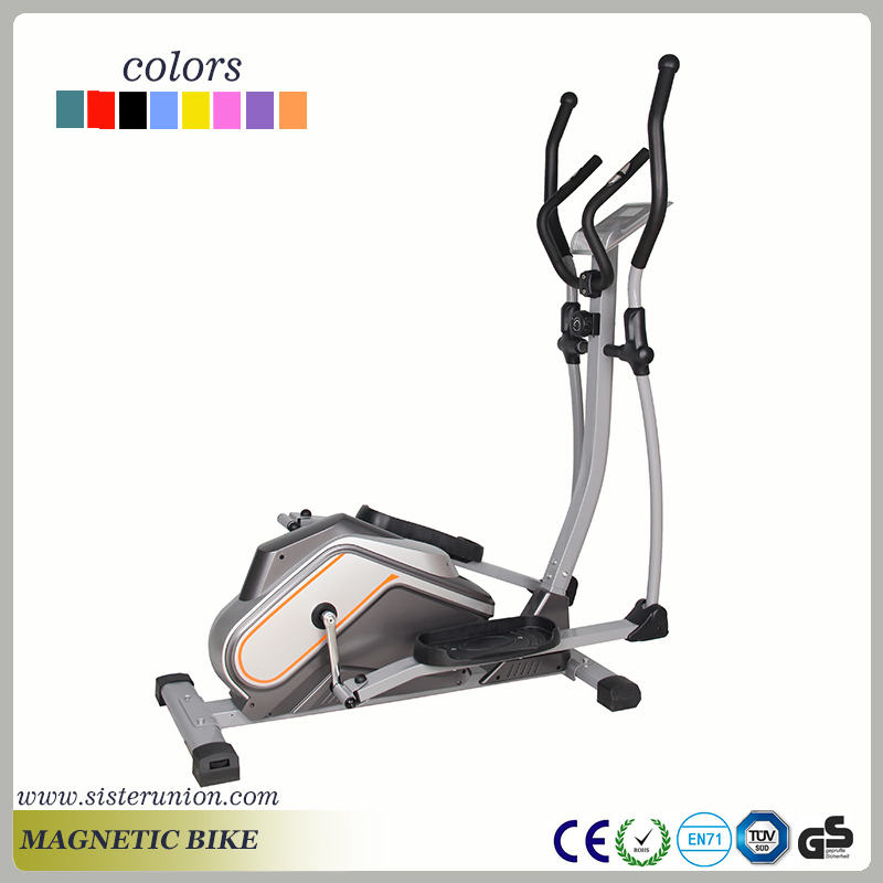 340mm step pitch magnetic elliptical cross trainer