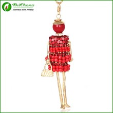 Unique Jewelry Doll Pendant Jewelry For Women AN-0061