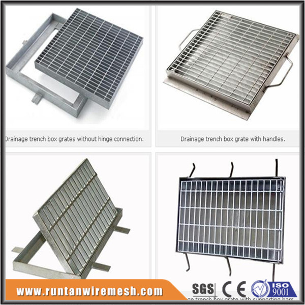 road grate cover trench rain drainage steel ms drain grating