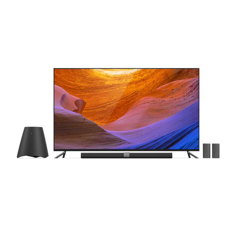 Xiaomi TV 3S Flat Smart TV 65 Inch Interface HD Screen Real 4K 3840*2160 Quad Core 1.8GHz Ultra HD Xiaomi MI TV 3s 65''