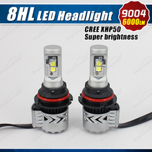 Super brightness 8th G adjustable 10000 lumen led headlight 6000LM 12-24v