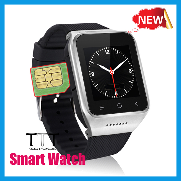 2016 Cheap 1.54inch MTK6572 Y8 GPS+SIM+Camera+3G Bluetooth 4.0 Smart Watch Phone