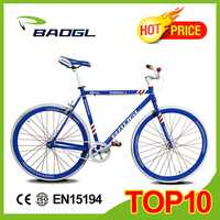 Baogl fixed gear bicycle with antidumping tax 19.2% racing bicycle frame