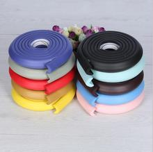 furniture corner anti-collision Angle children safety corner protection/rubber baby safety door strip edge guard