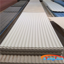 hard plastic roofing sheet/large corrugated plastic roofing sheets