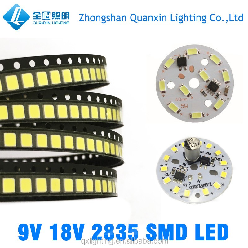 2835 5730 SMD Epistar LED Chip 0.5W 1W high lumen