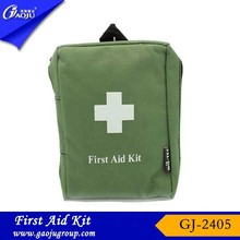 GJ-2405 Easy Carry Oxford Material army First Aid Kit,military survival kit/survival bag,military first aid kit