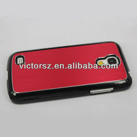 2013 hot selling cell phone case for samsung galaxy s4 mini, for i9500 luxury metal case cover
