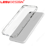 Transparent crystal tpu ultra thin silicone shockproof tablet phone case for for iphone 7 6s