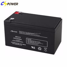 12v 7.2ah security lead acid battery for emergency light / scooter mobility