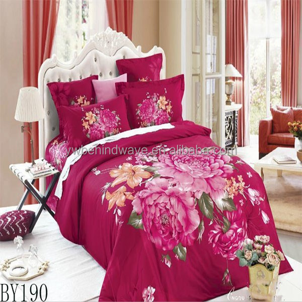 Microfiber Fancy duvet cover with zipper