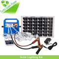 2016 New Product solar cell kit for camping 12 volt dc generator