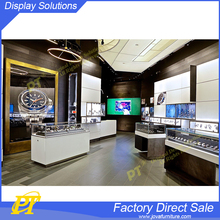 Glass Jewelry Showroom Display Table and Stand Design