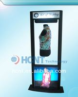New Innovation Magnetic Floating Display stand, nail polish display stand wall mounted