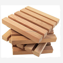 Large Square Wood Block Crafts Cedar Pallet Coaster