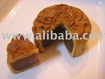 Home-made Lotus Paste Moon Cake