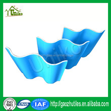 Insulated roof panels Foshan PVC cover for swimming pools cost of warehouse construction