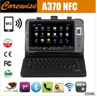 Cheapest 7inch A370 Rugged Tablet with nfc rfid function android GPS 3G mobile phone rfid Corewise A370 waterproof rugged Tablet