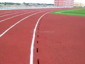 one component PU adhesive/binder for spray coating running track