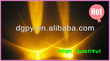 High Brightness 5mm yellow round led diode ( 10000-12000mcd ) ( CE & RoHS )