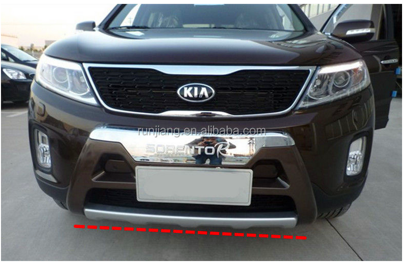 Bumper Guard For SORENTO 2013 , ABS Front Guard and Rear Guard