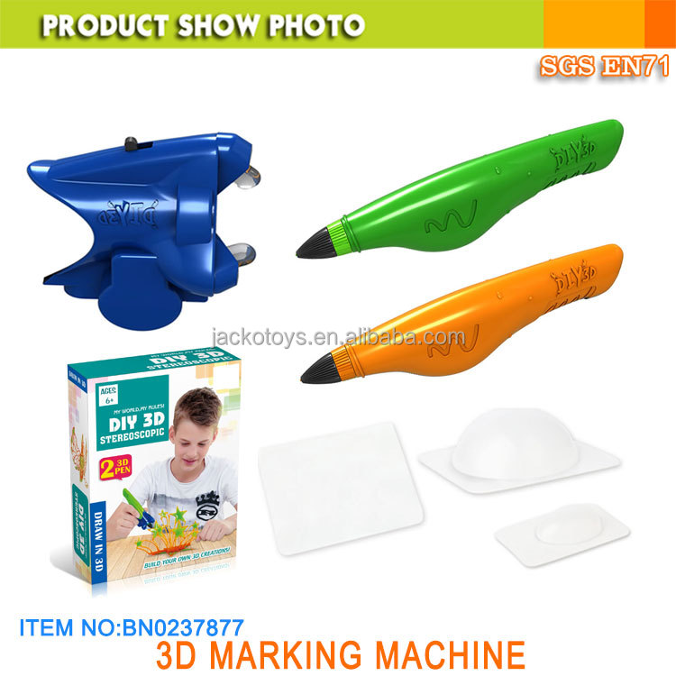 2017 new toy 3D forming machine 3D draw toy pen