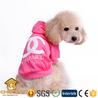 500+ models available xxs dog clothes with hat 3 colors
