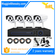 h 264 dvr admin password reset security 4ch camera system 1080P hd p2p ip camera system cctv
