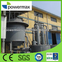 top quality 1MW biomass pellet gasification power generation