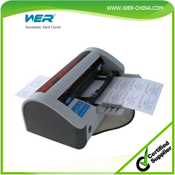Automatic Smart Business Card Cutter Name card Cutter