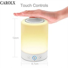 China Products Touch Sensor Led Lights Musical Night Light Mini Speaker Lamp