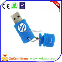 2015 promotional silicone 2.0 usb flash disk