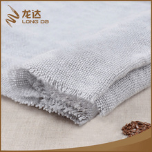 Longda Manufacture popular plain dyed soft natural hotel bed linen fabric