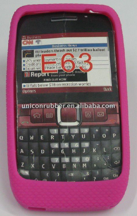 silicone case for Nokia E63