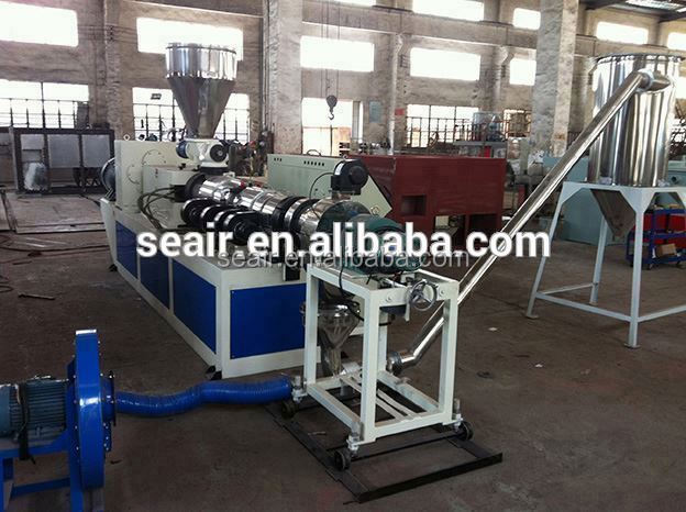 Plastic machine,plastic machinery,water ring film granulation line /air cooled hot cutting