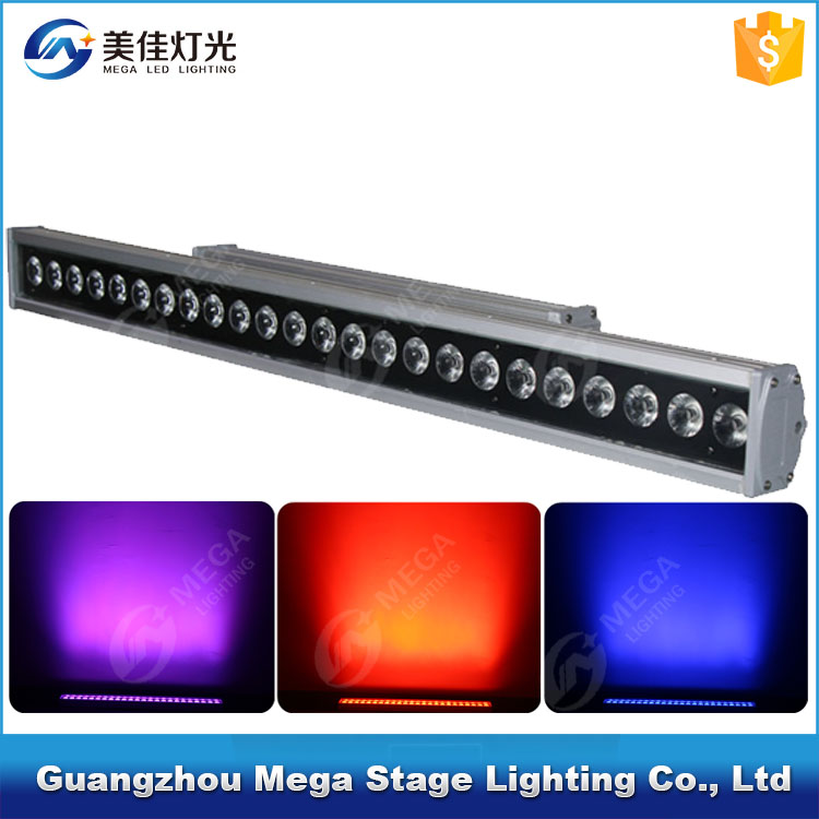 24x10w linear wall wash rgbw dmx512 led stage light equipment