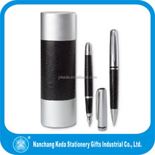 2014 hot selling Novelty Reliable Quality logo custom Cheap Leather Marker Pen