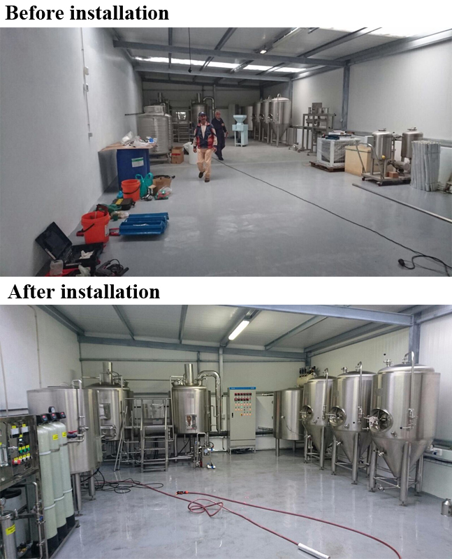 Industrial Use Large Beer Brewery Equipment