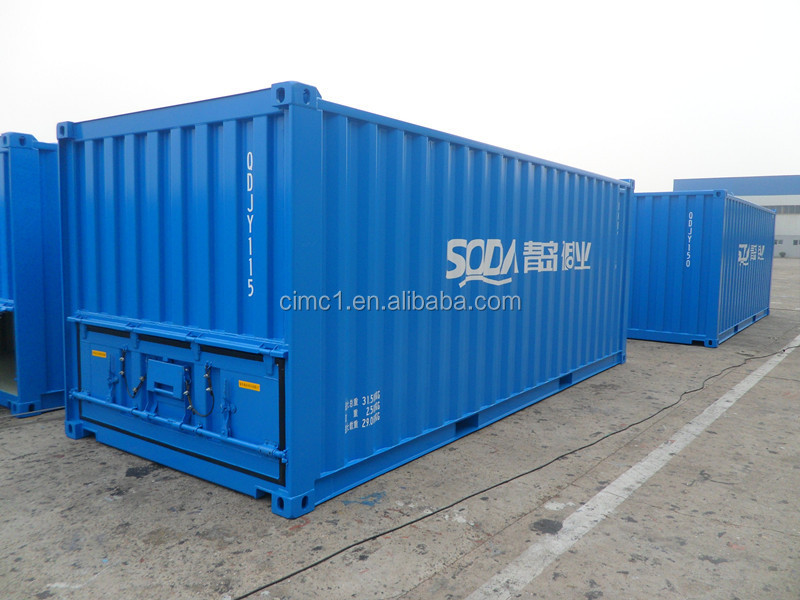 One way one belt railway dry cargo container
