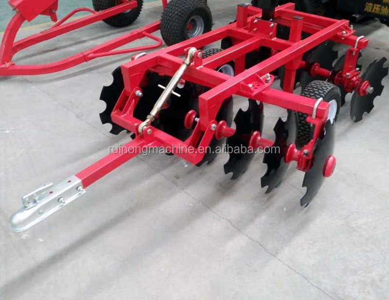 ATV/UTV drag light duty disc harrow for sale