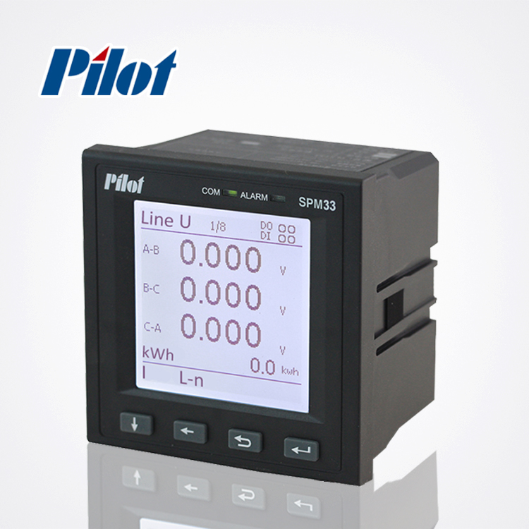PILOT SPM33 LCD Harmonic MODBUS Three Phase Digital Power Meter