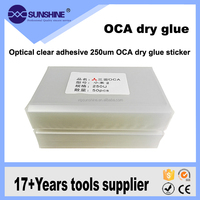 mobile phone lcd repair use Optical clear adhesive 250um OCA dry glue sticker