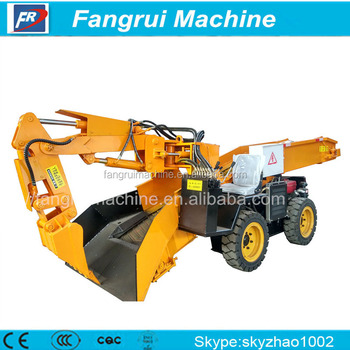 Big Capacity crawler-type grilled slag machine for underground mine for export