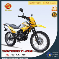 New Dirt Bike 200CC Motorcycle Wholesale Motocross Made in China Hyperbiz SD200GY-10A