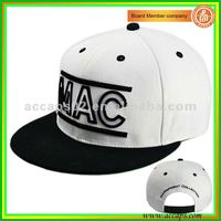 3D outline embroidery snapback hat SN-0048