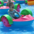 Funny Park Funfair Kids Water Rides Hand Powered Colorful Paddle Boats