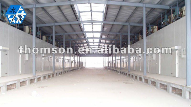 Cold Rooms For Seafood Industry