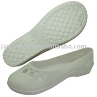 White comfortable durable medical shoes
