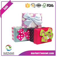 engagement paper packaging small fancy paper christmas gift box