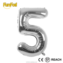 Guangzhou 32 inches toy supplier foil balloons numbers